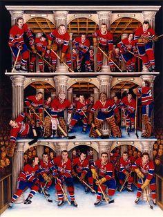 Piliers des Canadiens, soumis par Les Habitants / Pillars of the Canadiens, submitted by Les Habitants