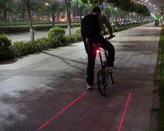 Bicycle Lane Laser Light