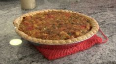 Crawfish Pie  http://www.timfarmerscountrykitchen.com/entrees.html