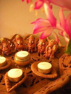 Peacocks and Paisleys : Diwali at my home,