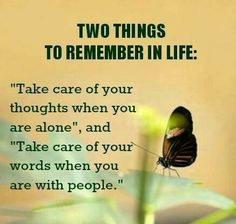 ♥Things to remember in life