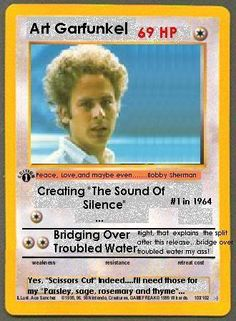what about simon?!   :) :) trade card, redhead trade, art garfunkel