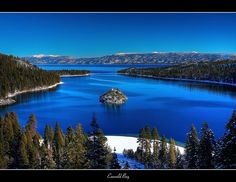 Emerald Bay by the_tahoe_guy, via Flickr