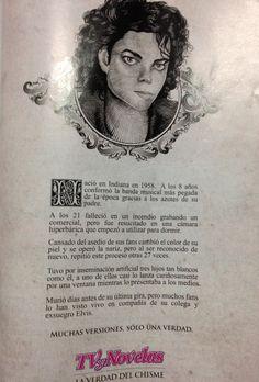 La vida de Michael Jackson. Descripcion en español