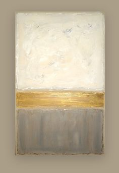 Modern Acrylic Abstract Original Painting on by OraBirenbaumArt