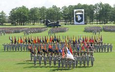 Fort Campbell...Home of the Screaming Eagles