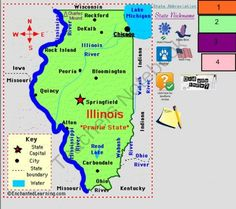 Illinois Smartboard  from Babar's Store on TeachersNotebook.com -  (23 pages)  - Smart board file Introduction to Illinois