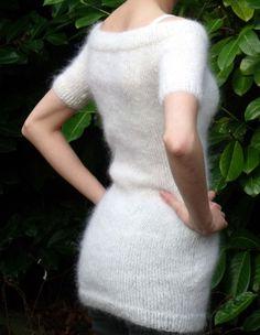 Jumper Dress  Mohair Fitted Custommade by SheynasKnittedKnacks, £60.00