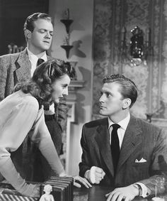 Van Heflin, Barbara Stanwyck & Kirk Douglas The Strange Love of Martha Ivers