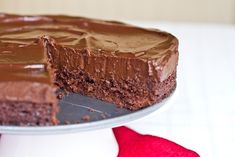 Chilled Double Chocolate Torte: The No Bake Version from oh she glows