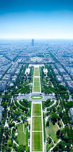 Paris, France - View from the Eiffel Tower