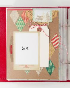 Holiday Mini Albums: Journal Your Christmas 2013 - Two Peas in a Bucket