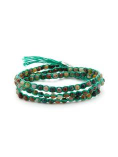 Jasper & Agate Wrap Bracelet by Chan Luu on Gilt.com