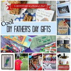 Easy DIY Father's Day Gift Ideas from MomAdvice.com.
