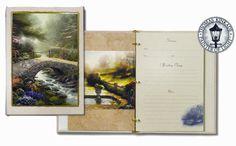 Thomas Kinkade® Bridge of Faith register book