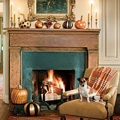 50 Fabulous Fall Decorating Ideas   Fancy Pumpkin Display   SouthernLiving.com