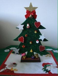 Árvore de Natal em madeira