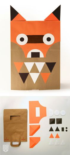 #DIY #fox costume for #Halloween