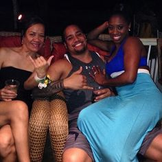 Jonathan Solofa Fatu Trinity McCray Fatu and Talisua  Fuavi Fatu is his mother and her mother-in-law