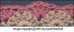 Learn the Solid Shell Stitch With Photos and Pattern Instructions