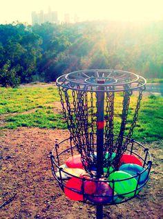 Frisbee golf in Golden Gate Park!