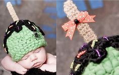 A FREE Pattern - Caramel Apple Hat - Ravelry Download from Boomer Beanines