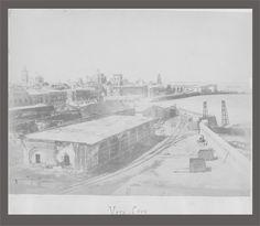 Fotos Del Puerto De Veracruz | Veracruz: Rara foto histórica de 1864-1867 | VERACRUZ ANTIGUO