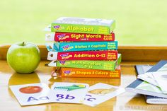 From their ABCs to their 123s, kids will have fun learning the basics with our pocket flash cards! kid