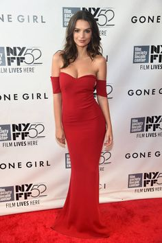 Emily Ratajkowski. The 52nd annual New York Film Festival is in full swing and we've got the best dressed looks here: