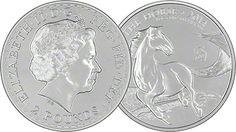 Royal Mint Lunar Horse 'Mule' Coin