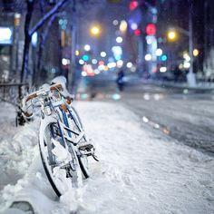 No use biking now...