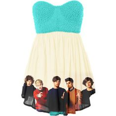 I want this one direction dress!!!!