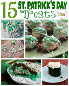 15 recipes perfect for celebrating St. Patrick's Day.