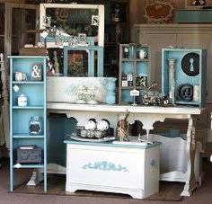 TheShabbyCottageHome.com one of a kind furniture & reinvented vintage finds