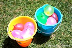 Math Games {Water Balloon Equations} from Learn Play Imagine