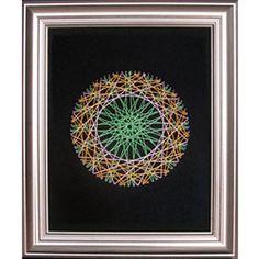String Art Fun Free Circle Pattern 1