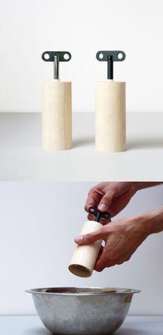 Salt & Pepper box designed by Oscar Diaz