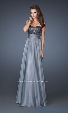 Strapless Prom Gown, Long Strapless Formal Dress - Simply Dresses