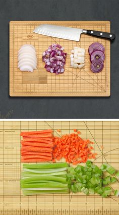ocd cutting board.