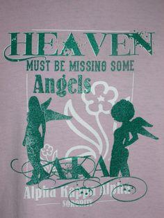 Alpha Kappa Alpha angels tee