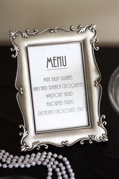 Roaring 20s party decor | Twenties With These Fabulous Great Gatsby Inspired Party Ideas ...