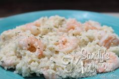 """Sandy's Kitchen: Quick and Easy Mock Shrimp """"Risotto"""""""