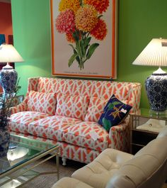 CR Laine 310 N. Hamilton St #hpmkt Bright, happy color. Move over green, blue is new on the scene!