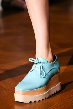 I need these shoes in every color. And the star print ones. Stella McCartney | Fall 2014