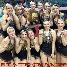 Congratulations Heritage Belles Dance Team - 2013 State Champions!