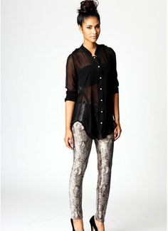 Snake Legging- would def rock this!!