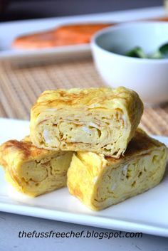 the FUSS FREE chef: Japanese Rolled Omelet - Tamagoyaki