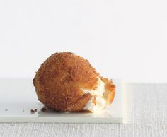 Fried Mozzarella Balls Photo - Party Hors Doeuvres Recipe | Epicurious.com