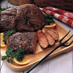 Peppered Ribeye Steaks