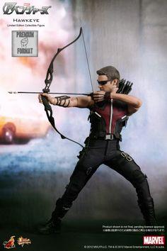 Hawkeye Action Figure ... yes please!